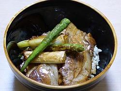 綾町 綾豚 焼き肉用バラ肉 豚丼
