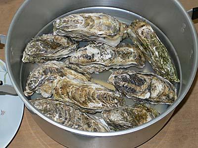 志津川産 復興牡蠣 宮城 牡蠣の酒蒸し
